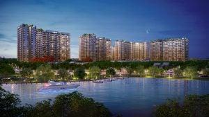 Căn hộ view sông Vàm Thuật picity high park